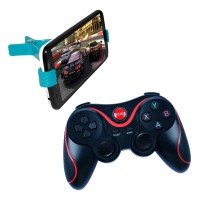 Terios Gamepad T3 + Holder Jepit Android bluetooth smartphone VR Box wireless TV Box