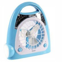[SURYA] SYK-L2410 Emergency Lamp (24-led+1) with Fan (Tahan 5-jam) Biru / Hijau