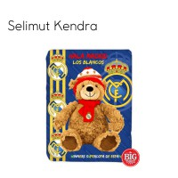 Kendra / Queen Size 160x200 / Selimut / Real Madrid / Bear / Bola / Beruang