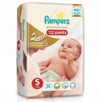 Pampers Premium Care Pants S32