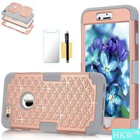 [macyskorea] iPhone 6 Plus Case,iPhone 6S Plus Case,HKW (TM) Bling Rhinestone 3 IN 1 Armor/13122586