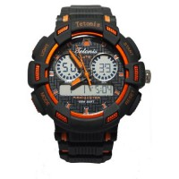 Tetonis Jam Tangan TS68 Hitam Orange