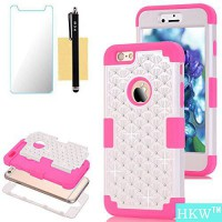 [macyskorea] iPhone 6S Plus Case,iPhone 6 Plus Case,HKW (TM) Bling Rhinestone 3 IN 1 Armor/13123994