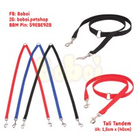 Double Leash Tali Tandem Tali Anjing Dog Leash Dog Collar Cat Leash