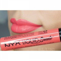 NYX Liquid Suede Cream Lipstick Life's A Beach ORIGINAL 100%
