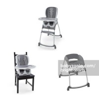 Bright Starts InGenuity Trio 3 in1 Deluxe High Chair – Slate