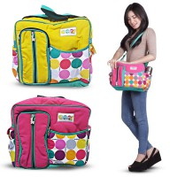 Tas bayi Medium Merk Snooby TPT1572 AVAILABLE IN 2 COLOR