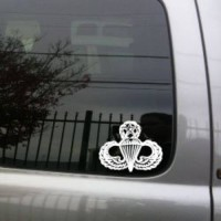 [poledit] Laced Up DecalsTM Jumpmaster Badge vinyl decal small/9723167