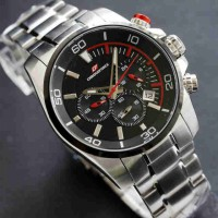Chronoforce 5227 Silver Red
