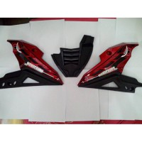 Cover Mesin Transformer Cover Engine Tutup Mesin byson motor yamaha Byson