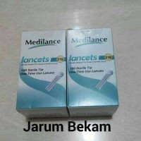 Jarum Bekam Blood Lancets Medilance 21G