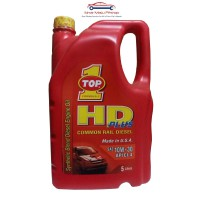 Top One HD Plus 10W-30 Synthetic Oli Mobil Mesin Diesel 5 Liter Original Made in USA