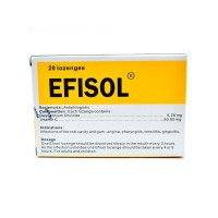 Efisol Lozenges ( 1 Dus Isi 20 Tablet )