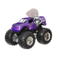HWMJ161 Hot Wheels Monster Jam Mohawk Warrior 2015 Edition w/ Battle Slammer Original Item