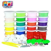 [globalbuy] 24 Colors Air Dry Jumpimg Colored Clay Cold Porcelain Play Dough Playdough Doh/3557807