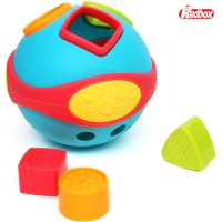 [(B) Red Box melody block match play - Replacing the shape to fit the shape shapes shapes play puzzle shape block toy for children, complete income