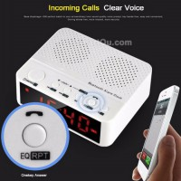 [esiafone great value] TAFFWARE Universal Desktop Bluetooth Speaker Alarm Clock