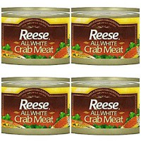 [poledit] World Finer Foods Reese All White Crabmeat, 6-Ounce Units (Pack of 4) (T1)/14119391