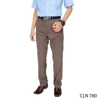 Celana Slim Fit Formal Katun Abu Tua – CLN 780