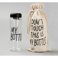 MY BOTTLE / BOTOL MINUM TRITAN + BOTTLE BAG [INFUSED WATER]
