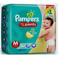 Pampers Baby Dry M18 -JABODETABEK ONLY-