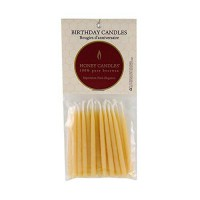 [poledit] Honey Candles 100 Pure Beeswax Birthday Candles (Pack of 20 Natural Color, 3 Inc/14117181
