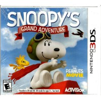 [Nintendo 3DS] Snoopy's Grand Adventure