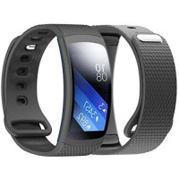 [poledit] Dreaman Luxury Silicone Watch Replacement Band Strap For Samsung Gear Fit 2 SM-R/14577258