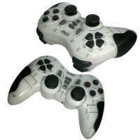 M-Tech Gamepad Wireless Turbo - Single - Putih