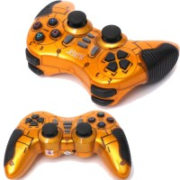 M-Tech Gamepad Wireless Turbo - Single - Gold