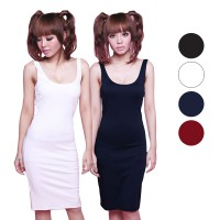Basic Body Dress /Midi Dress - Available in 4 Colors