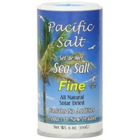 [poledit] Pacific Salt Fine New Zealand Sea Salt, 6-Ounce (Pack of 6) (T1)/14116030
