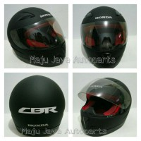 Honda Helm Full Face CBR 125/150 Black | Helm Full Face