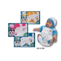 Baby Gift Set Kiddy - Blue, Yellow and pink 11150
