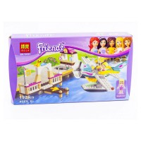 BELA FRIENDS BLOCK 192 PCS - 10157 , 6 + SNI