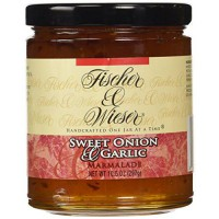 [poledit] Fischer & Wieser Specialty Foods Sweet Onion and Garlic Marmalade, 10.5 Ounce (T/13877055
