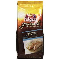[poledit] Folgers Gourmet Selections Coffee, Vanilla Biscotti, 10 Ounce (R1)/13876892