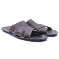 Dr.Kevin Leather Sandals 97156 Brown