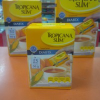 TROPICANA SLIM DIABTX 25S / 50GR SWEETENER GULA DIABETES