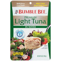 [poledit] Bumble Bee Premium Light Tuna In Water, 5 Ounce (Pack of 12) (T1)/13875337
