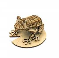 3D Puzzle Wooden Kigumi Animal Edition - Exclusive Product