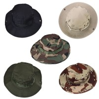Bucket Hat Boonie Hunting Fishing Outdoor Wide Cap Brim Military