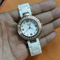 Jam Tangan GC Keramik Diamond White G0216
