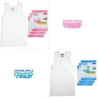 Arrow Apple Teens - Value Pack - Singlet Remaja - Boy & Girl - 3 Pcs