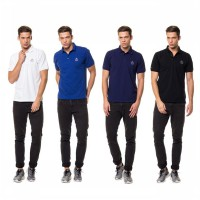 CONTEMPO MEN POLO SHIRT S/S 4 COLOUR B1216C07-A15 | Kaos Berkerah | Kaos Kerah | Kaos Polo shirt