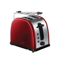 RUSSELL HOBBS LEGACY 2SL TOASTER – RED
