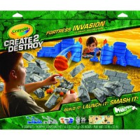 [holiczone] Crayola 2 Destroy Fortress Invasion Ultimate Destruction Playset/1844760