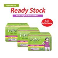 3 Pack Kotex Liner Longer & Wider Daun Sirih Isi @16