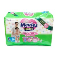 Merries Popok Pants Good Skin - L 30