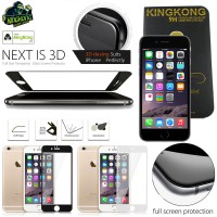 iPhone 6 - 6S Kingkong Full Curved Glass Antigores Screenguard